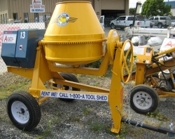 Rental store for 9 CU FT TOWABLE GAS CONCRETE MIXER in Hollister CA
