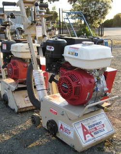 Rental store for GAS COMPACT CONCRETE PLANER in Hollister CA