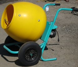 Rental store for 2 CU FT WHEEL BARROW CONCRETE MIXER in Hollister CA