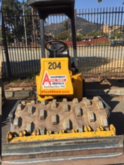 Rental store for 48  VIBRATORY SHEEPSFOOT ROLLER in Hollister CA