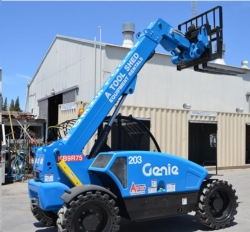 Rental store for 19  HIGH 4X4 TELEHANDLER REACH FORKLIFT in Hollister CA