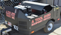 Rental store for 4000 PSI HOT PRESSURE WASHER w  TRAILER in Hollister CA