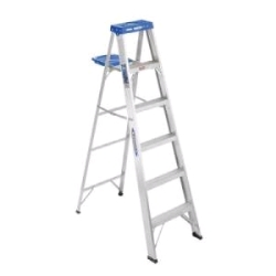Rental store for 6  ALUMINUM STEP LADDER in Hollister CA