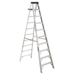 Rental store for 10  ALUMINUM STEP LADDER in Hollister CA