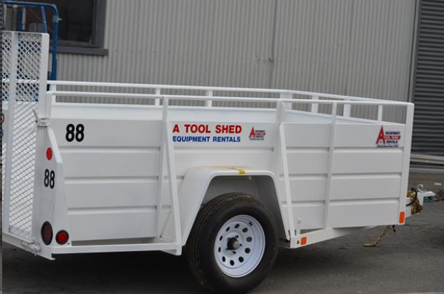 Where to find 5  x 10  UTILITY TRAILER in Hollister