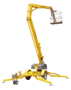 Rental store for 45  TOWABLE PERSONNEL BOOM LIFT in Hollister CA