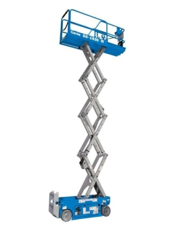 Rental store for 19  GENIE GS-1930 ELECTRIC SCISSOR LIFT in Hollister CA