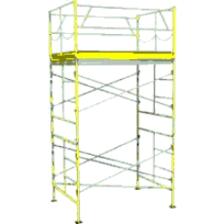 Rental store for 10  ROLLING SCAFFOLDING TOWER in Hollister CA