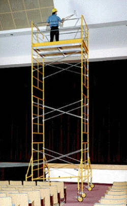 Rental store for 15  ROLLING SCAFFOLDING TOWER in Hollister CA