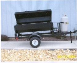 Rental store for TOWABLE PROPANE BARBEQUE with GRILL in Hollister CA