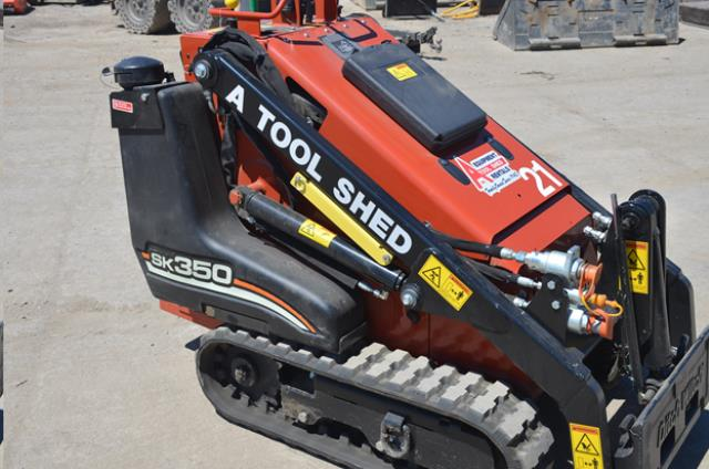 Where to find 35  GAS MINI TRACK SKID STEER LOADER in Hollister