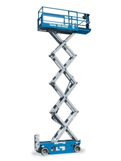 Rental store for 26  GENIE GS-2632 ELECTRIC SCISSOR LIFT in Hollister CA