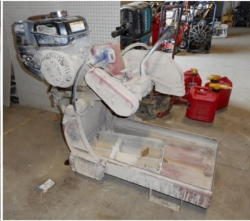 Used Equipment Sales GAS BRICK SAW in Hollister CA