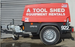 Rental store for 90 CFM TOWABLE DIESEL AIR COMPRESSOR in Hollister CA