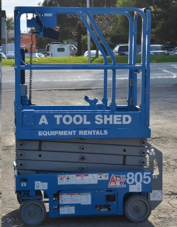 Rental store for 13  GENIE GS-1330 ELECTRIC SCISSOR LIFT in Hollister CA
