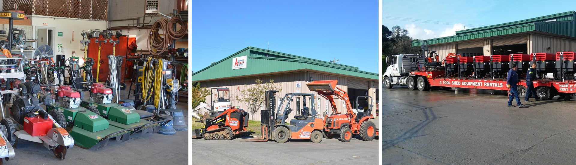 Equipment Rentals in San Benito County