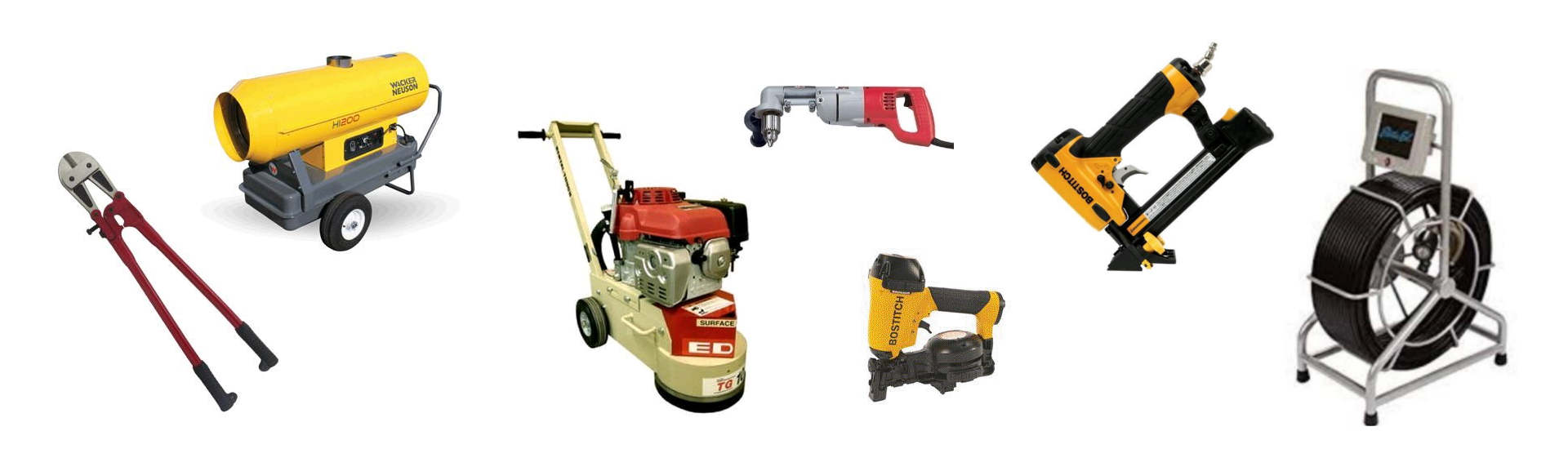 Contractor Equipment Rentals in San Benito County
